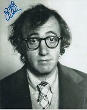More details for woody allen 'annie hall director' hand signed autographed 8x10 photo