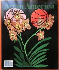 JONAS WOOD Basketball Plant Print on Magazine Cover Contemporary Art America OOP