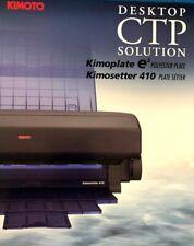KIMOSETTER 410 DESKTOP CTP PRINTER PLUS SOME SUPPLIES - NO RESERVE!