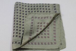 TIE RACK silk pocket handkerchief made in Italy