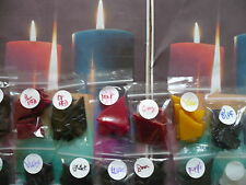 Candle Dye Pack..large 14 Colour Pack.(4)..all easy  use chips