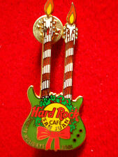 HRC Hard Rock Cafe San Juan Christmas 2001 Double Neck Guitar le200