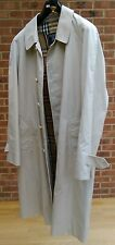 Burberry Rain Coat Single Breasted - Size 52 Reg - L@@K