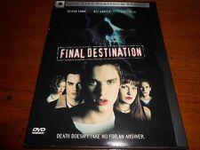 FINAL DESTINATION   DVD   2000  ALI LARTER  DEVON SAWA  KERR SMITH*FREE SHIP