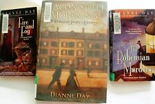 3 Dianne Day mysteries~Fire & Fog~The Bohemian Murders~Beacon Street Mourning