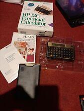 New ListingHp-12C Rpn Financial Calculator, Original Box & Materials-Hewlett Packard-Nib