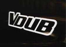 VDUB VEE DUB Decal Sticker Golf Polo MK1 MK2 MK3 MK4 MK5 MK6 GT TDi GTi VR6