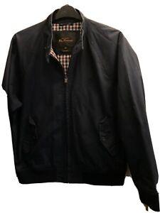 Ben Sherman Harrington Jacket Size XL Men's Very Good  Condition Navy Blue