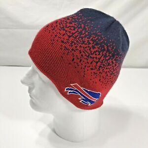 NEW! NFL BUFFALO BILLS Reebok Youth Boys (8-20) Beanie Hat Cap NO TAG
