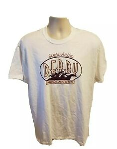 2011 The 74th Running of The Santa Anita Derby Adult Large White TShirt