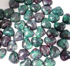 15*18mm Mix agate Gemstone heart CAB CABOCHON Flat Back Beads Jewelry Design
