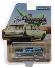 1:64 GreenLight *ESTATE WAGONS 1* BLUE 1979 Ford LTD Country Squire *NIP*