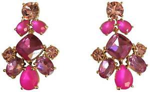 Kate Spade New York Women's Sparkling Pink Statement Dangle Earrings