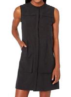 NAU Flaxible Sleeveless Dress Caviar Women's Dress Size M 82817