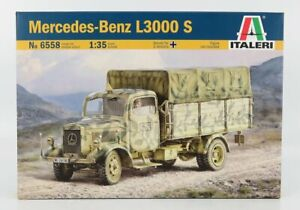 Modellino it6858 mercedes benz l3000s telonato truck military 1944 / 1/35