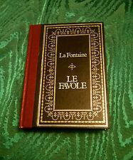 LA FONTAINE - FAVOLE SCELTE- Illustrato da Gustave Dorè-traduz. di E.De Marchi