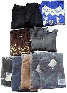 NEU Restposten10x Damen Bekleidung Shirts Nachthemd Tunika Hosen Gr.44,46,44/46