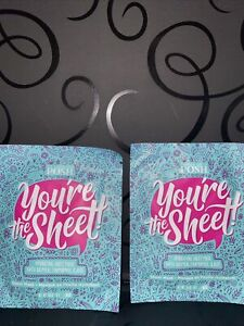 Perfectly Posh - You're The Sheet! Hydrating Sheet Mask - Two Packs