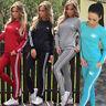 Women Winter Hoodies Sweatshirt Pants Sets Sportwear Casual Tracksuit CHK