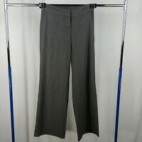J. Jill Gray Dress Pants Slacks Relaxed Straight Leg Womens Size 6