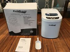 Koldfront Ultra Portable Ice Maker KIM202W MINT CONDITION. USED ONCE