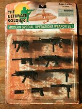Ultimate Soldier Modern Special Operations Weapon Set GI Joe