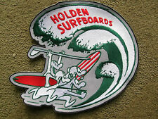vintage Holden surfboard surfing rare big jacket patch longboard surfer surf 60s