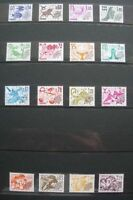 FRANCE  :  COLLECTION DE  TIMBRES PREOBLITERES  NEUFS .