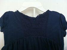 Ralph Lauren Girls Multi-Layered Dress Navy Lace Bloomers Sleeveless Sz 18M NWT