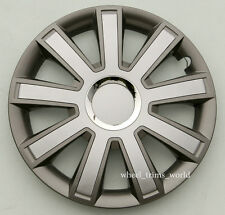 """4x15"""" wheel trims to fit PEUGEOT 107 207 308 407 1007"""