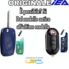 🇮🇹Chiave telecomando per Fiat Panda Punto bravo Con CHIP- Diventa new MODELLO