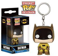 DC Comics porte-clés Pocket POP! Vinyl 75th Anniversary Batman Jaune 4 cm 64341