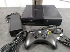 Microsoft Xbox 360 E 4GB Gaming System BLACK Video Game Console Bundle ELITE