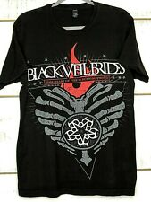 Men's T-Shirt Black Veil Brides M Cool Red Gray Graphics M  022-0423.0