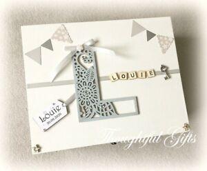 ⭐️Boys Girls Large/ XL Personalised Wooden Memory Keepsake Box Christening Gift