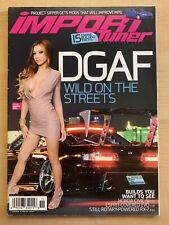 Import Tuner #171 November December 2013 Nissan 240sx S13 Dannie Riel