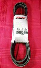 "MasterPro Serpentine Belt K060895 6K895 13/16"" x 90-1/8"" 20mm x 2290mm"