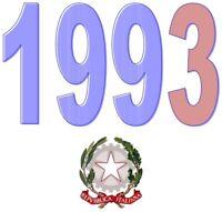ITALIA Repubblica 1993 Singolo Annata Completa integri MNH ** Tutte le emissioni
