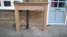 BESPOKE H110 W140 D20cm BESPOKE OAK FIRE SURROUND
