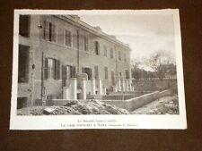 Le case popolari a Roma nel 1905 Facciate verso i cortili