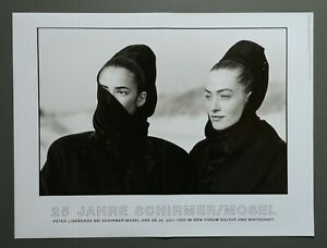 Ausstellungsplakat Exhibition Photo Poster Peter Lindbergh 56x42 Tatjana Patitz