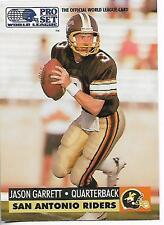 1991 Pro Set Jason Garrett rookie card, Dallas Cowboys legend