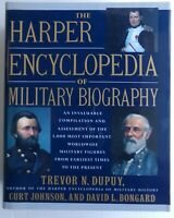Harper Encyclopedia of Military Biography Book Reference Commanders History