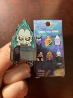Hades CHASE- Loungefly Villains Backpack Blind Disney Pin Chaser- Hercules Movie