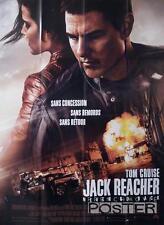 JACK REACHER : NEVER GO BACK - CRUISE / SMULDERS - ORIGINAL LARGE MOVIE POSTER