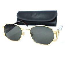 a977036f80f4 GIANNI VERSACE vintage sunglasses S61 col 030 brown gold oval medusa head  unisex