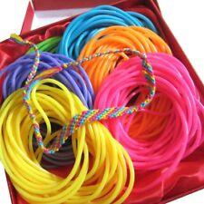 Neon Rainbow Gummy Jelly Bracelet Pride Rave Accessory Party Favor 288pc BULK