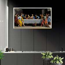 The Last Supper Poster Living Room Home Picture Decor Canvas Wall Art Painting