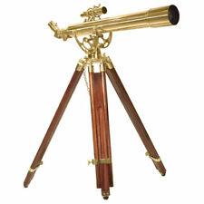 Barska Anchormaster Classic Brass Telescope Spyscope w/ Tripod, 28x60mm, AE10822
