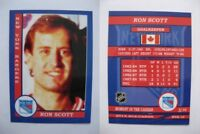 2015 SCA Ron Scott rare New York Rangers goalie never issued produced #d/10
